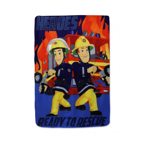 Official Fireman Sam Polar Fleece Blanket