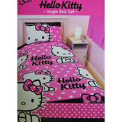 Hello Kitty Duvet Set