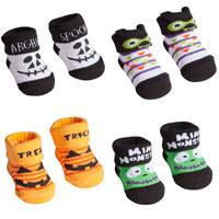 Baby Halloween Socks In Gift Bag