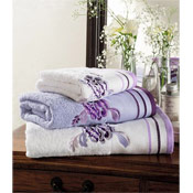 Egyptian Cotton Belvoir Bath Sheet Purple