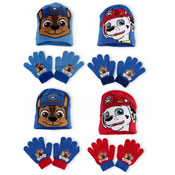 Boys Paw Patrol Hat and Glove Sets