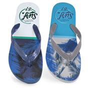 Mens Surf 87 Print Flip Flop