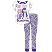 Ladies My Little Pony Unicorn Pyjama Set