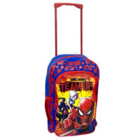 Official Spiderman Large Deluxe Trolley Backpack