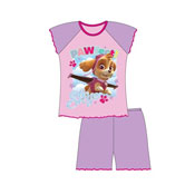 Girls Shortie Pyjamas Paw Patrol Skye