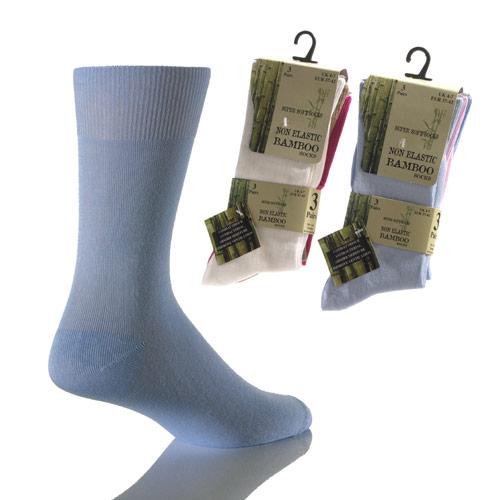 Ladies Bamboo Socks Non Elastic