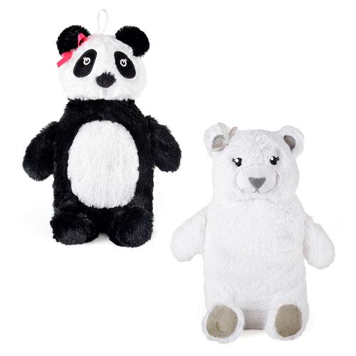 Polar Bear & Panda Hot Water Bottles