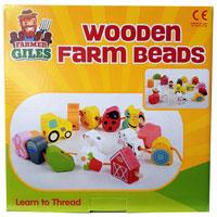 Wooden Farm Beads