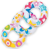 Swim Ring Colourful 20 Inch