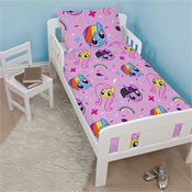 My Little Pony 4 Piece Toddler Bed Set