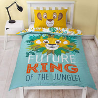 Official Lion King Future King Reversible Duvet Set