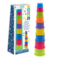First Steps Stack Up Cups