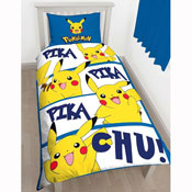 Pokemon Action Panel Duvet Set