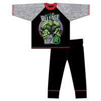 Boys Older Official Hulk Rage Pyjamas