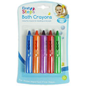 First Steps Baby Bath Crayons