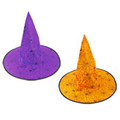 Halloween Spooky Witch Hats