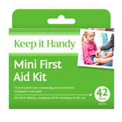 Mini First Aid Kit 42 Pieces