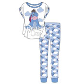 Ladies Disney Eeyore Duvet Day Pyjama Set