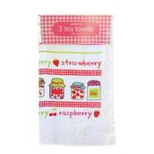 Fruity Jam Tea Towels 3 Pack