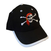 Childrens Baseball Cap Pirate Design