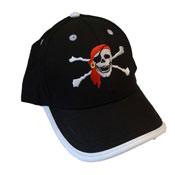 Childrens Baseball Cap Pirate Design