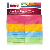 Colourful Clothes Pegs 32 Pack
