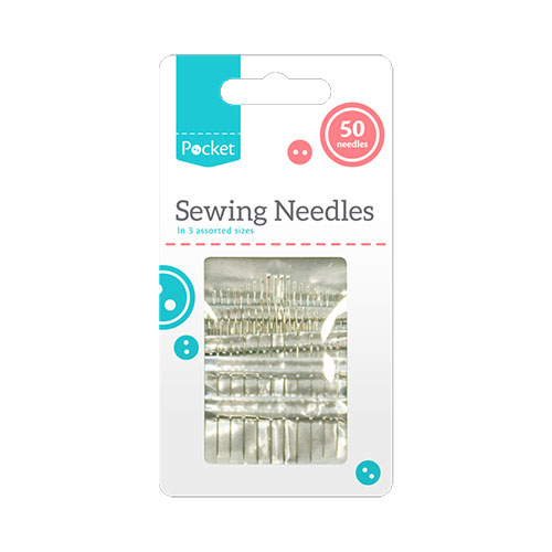 Sewing Needles 50 Pack