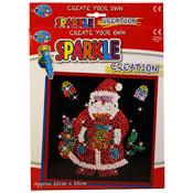Create Your Own Sparkle Creation Santa
