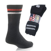 Black Stripe Sport Socks Washington 3 Pack