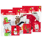 Christmas Foam Craft Characters Assorted