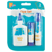 3 Piece Glue Set