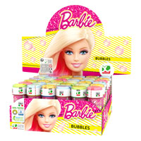 Official Barbie Novelty Soap Bubbles