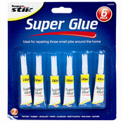 Super Stick 3.0G Super Glue 6 Pack
