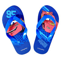Official Cars Boys Flip Flops