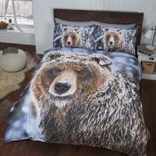 Brown Bear Christmas Duvet Set