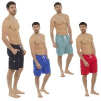 Mens Swim Shorts With Cargo Pocket