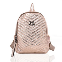 Star Shimmer Backpack Gold