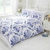 Boheme Blue Duvet Set