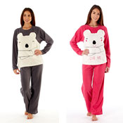 Ladies Cici Bear Love Me Pyjama Set
