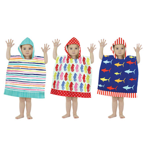 Mini Poncho Pal Hooded Beach and Bath Robes