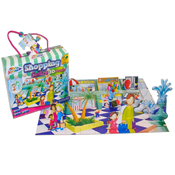 Grafix 45 Piece 3D Shopping Centre Puzzle