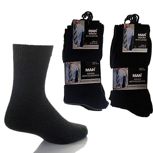 Man Basics Elastane Socks