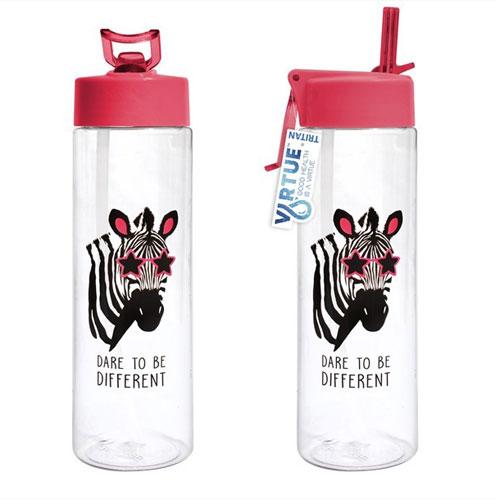 Hydration Drinking Bottle Zebra 600ml