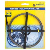 Flexible Steel Drain Cleaner 4.5m
