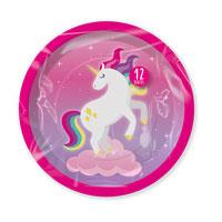 Unicorn Party Plates