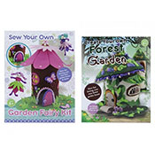 Fairy Garden & Forest Swing Set