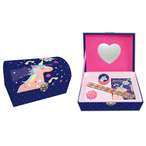 Unicorn Jewellery And Stationery Box