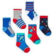 Baby Novelty Design Socks Space/Planet
