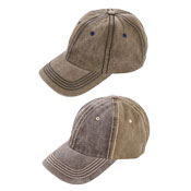 Mens Washed Look Baseball Cap