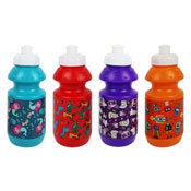 Kids Assorted Designs Sports Bottle